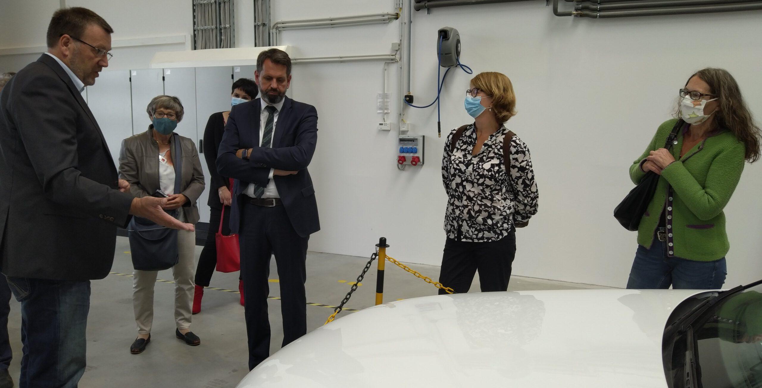 Umweltminister Olaf Lies und Susanne Menge (MdL) zu Gast in Winsen