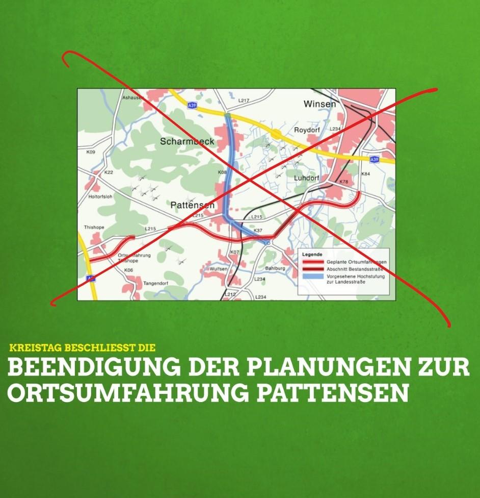 Planung der Ortsumgehung Luhdorf/Pattensen gestoppt: Alles wird gut!