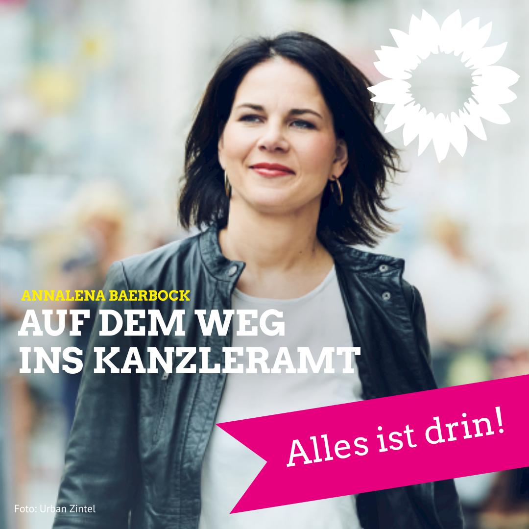 """""""Mit Annalena Baerbock ist alles drin"""""""