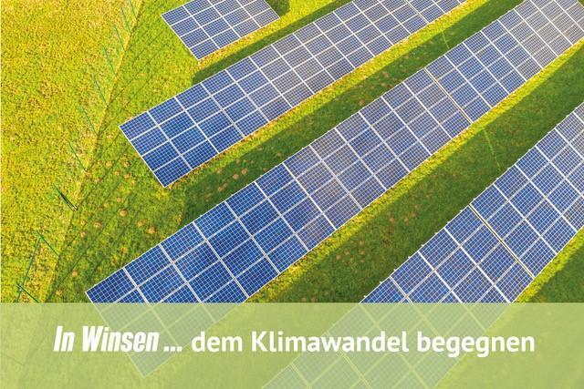 In Winsen... dem Klimawandel begegnen