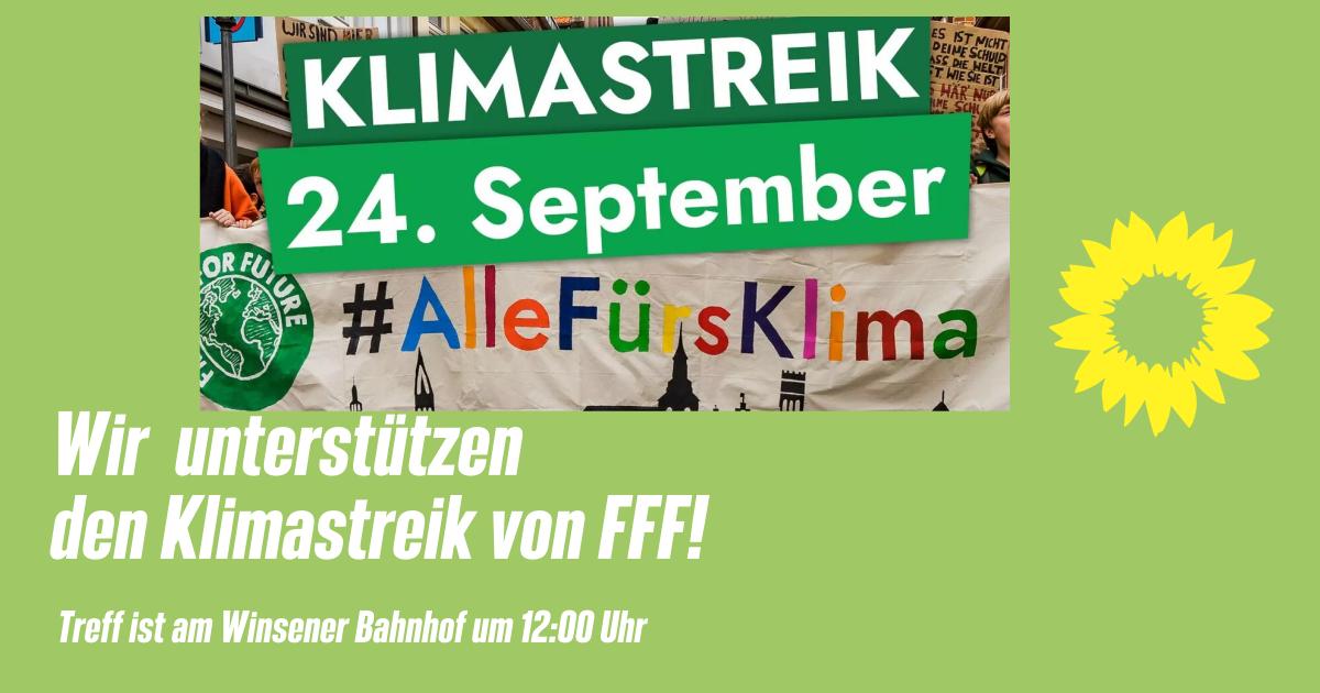 Globaler Klimastreik am 24. September – auch in Winsen